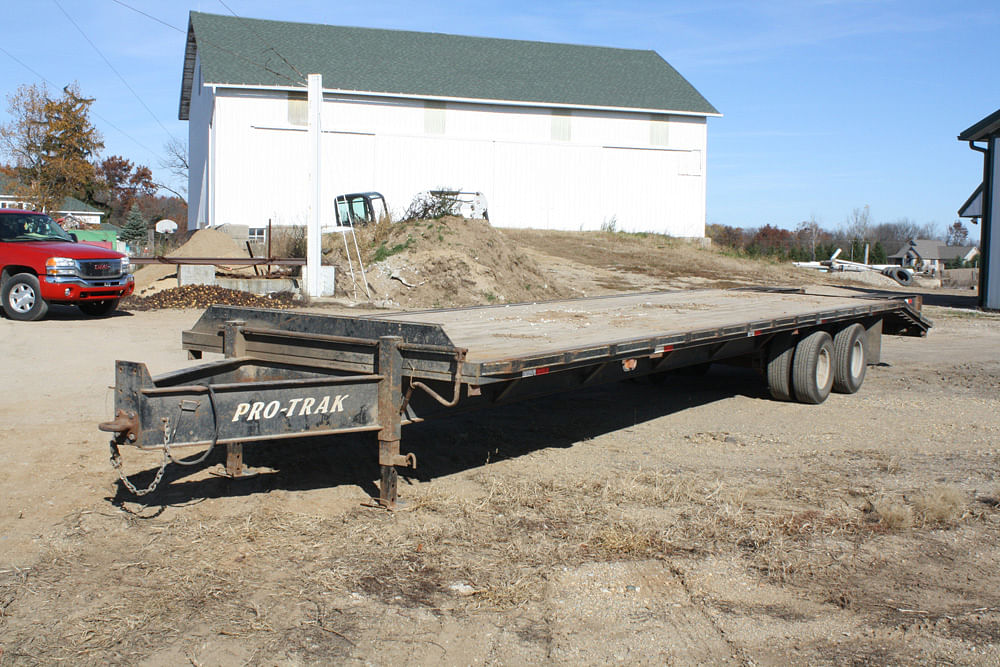 Farm Equipment Auction Like New Well Maintained Schrader Real Protrak Gooseneck Wiring Diagram None At This Time