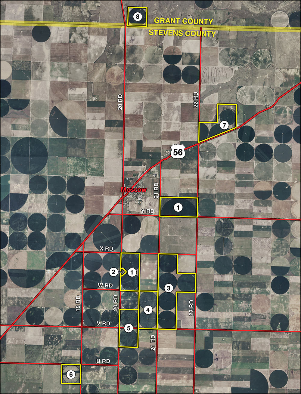 Kansas FarmLand Auction - 2,717 Acres in 8 Tracts - Mostly ... on