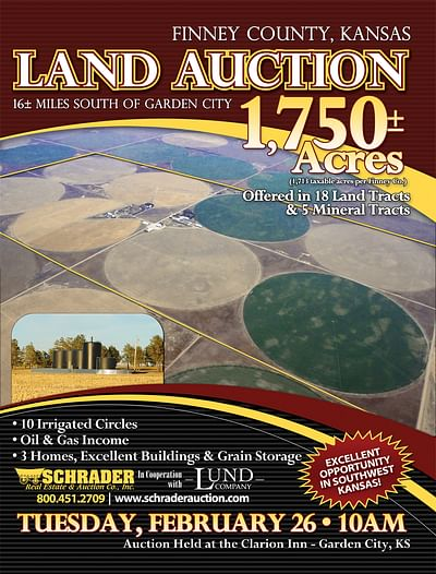 Schrader Real Estate and Auction Co - Land Auction Marketing