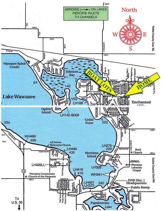 Lake Wawasee Estate Auction Offered In 3 Tracts Schrader