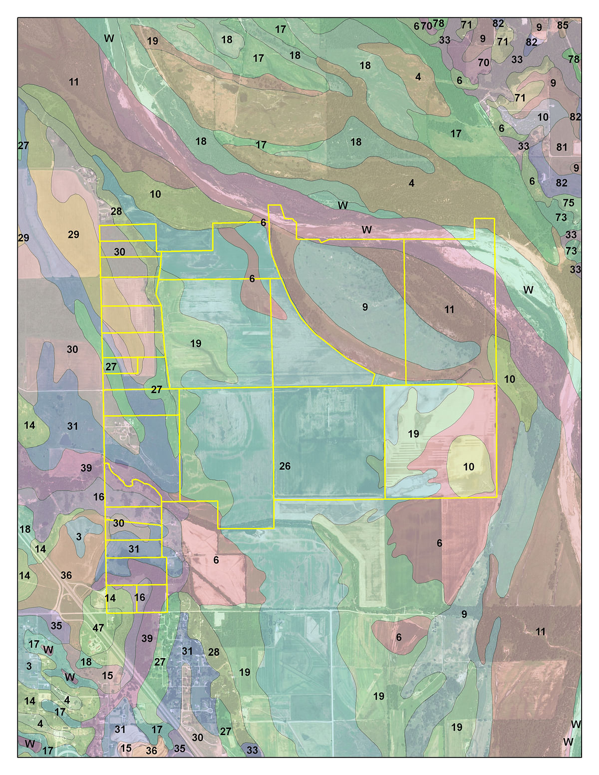 FARMLAND AUCTION - LAND AUCTION - 1,371+/- ACRES OFFERED IN