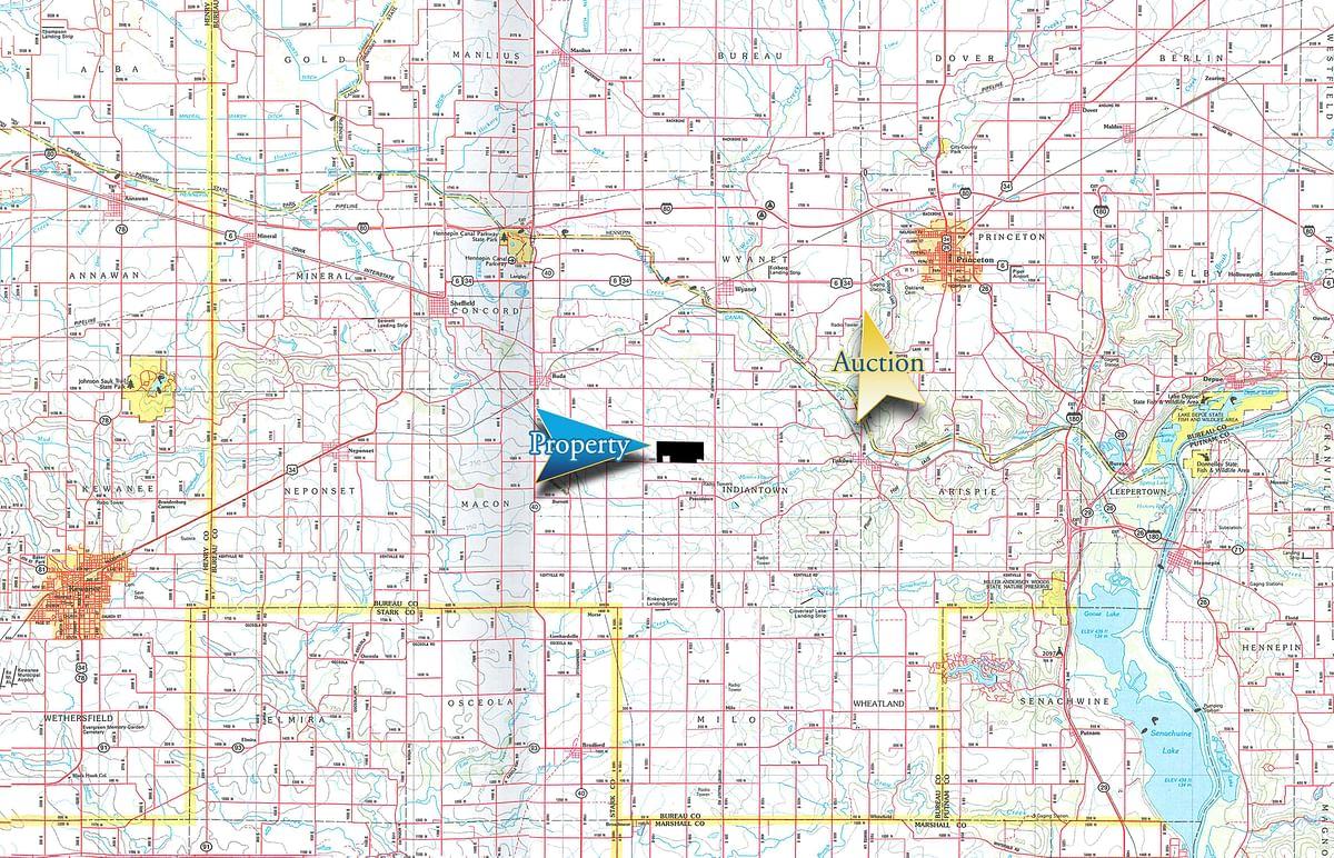 FARMLAND AUCTION - LAND AND WIND RIGHTS AUCTION - 337+/- ... on princeton texas map, princeton il house, princeton tiskilwa il map, princeton nj street map, albany new york map, princeton university campus map pdf,